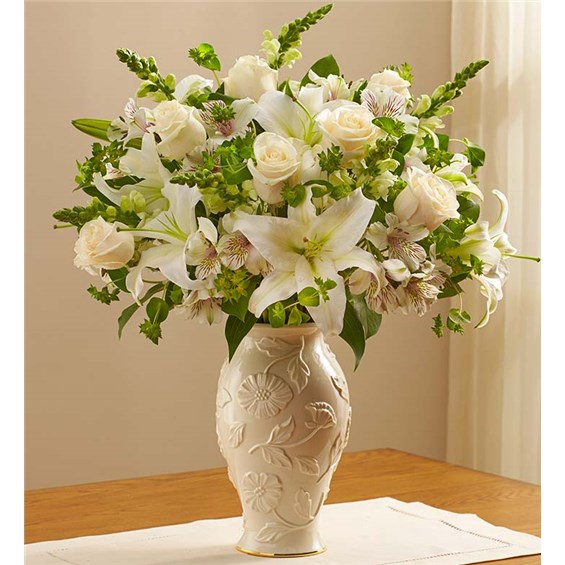 Flowers loving blooms™ in lenox all white